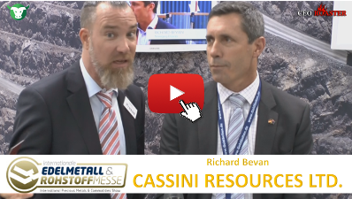 CEO-Roaster CZI Cassini Resources Ltd Prescous Metals Convention Munich 2017 Richard Bevan Michael Adams Thumb 400×225 Cassini Resources