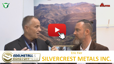 CEO-Roaster SIL SilverCrest Metals Inc Precious Metals Convention Munich 2017 Eric Fier Michael Adams