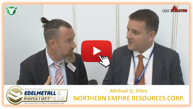 Thumb 400×225 NM Northern Empire Resources Corp Precious Metals Convention Munich 2017 Michael G Allen Michael Adams