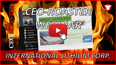 CEO-Roaster ILC International LIthium Corp Kirill Klip Michael Adams-400-225