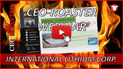 CEO-Roaster ILC International LIthium Corp Kirill Klip Michael Adams-400-225