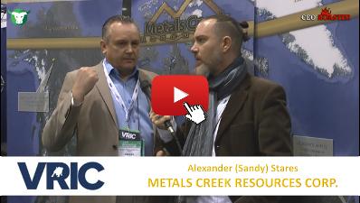 CEO-Roaster VRIC 2018 MEK Metals Creek Resources Corp Sandy Stares Michael Adams 400×225