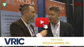 CEO-Roaster VRIC 2018 NIM Nicola Mining Inc Peter Espig Michael Adams 400×225
